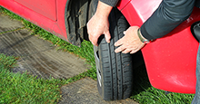 Tire performance relies on adequate tread depth